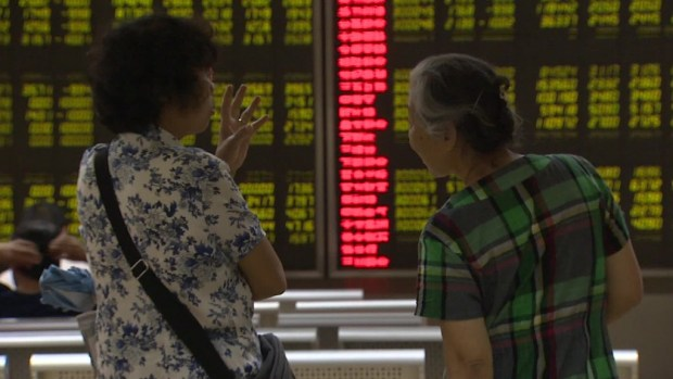 Three reasons why China's stock market is collapsing
