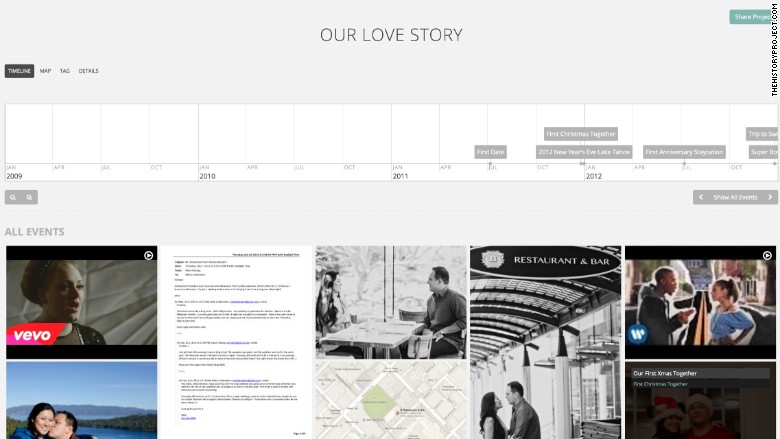 This new site lets you create a timeline of your life