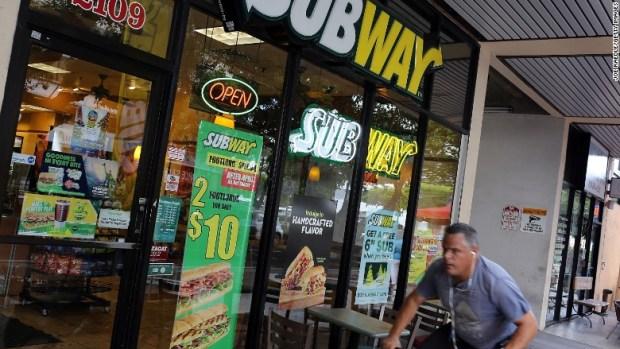 subway sandwich shop