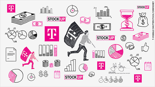T-Mobile is giving customers stock in the company