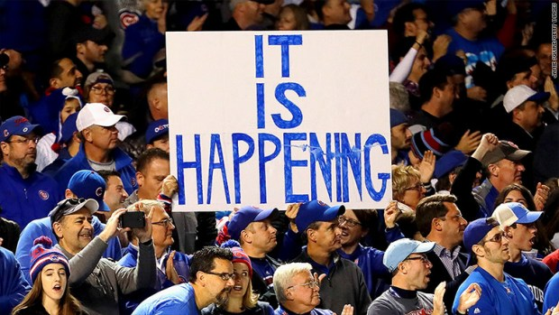 cubs world series