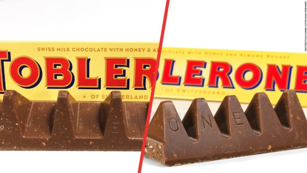 Toblerone is downsizing and fans are not happy