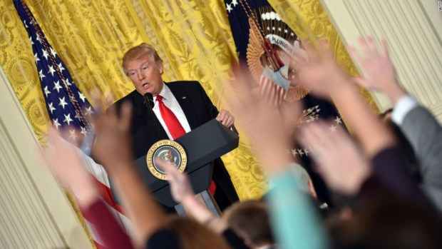 Here's how Trump has threatened the media
