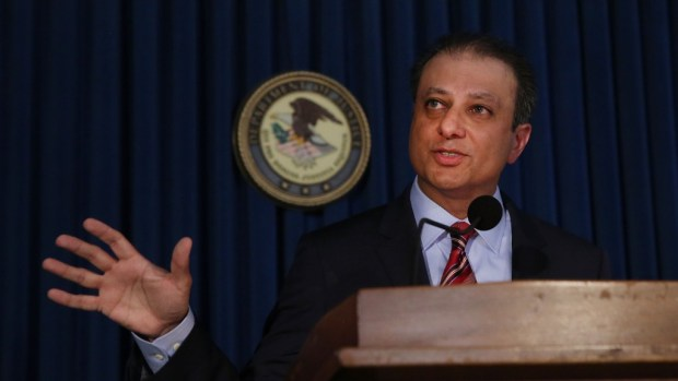 Bharara: It was my greatest honor to serve