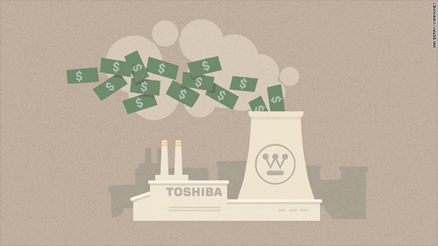 toshiba collapse