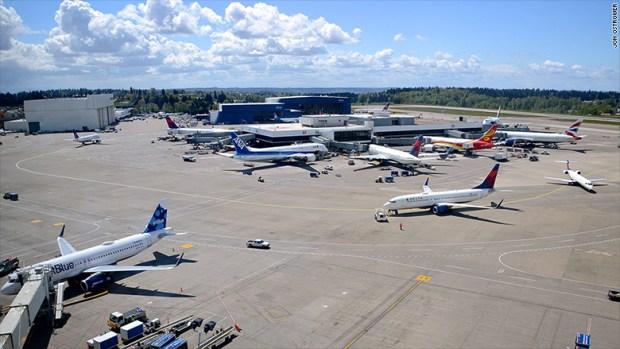 sea-tac seattle airport terminal