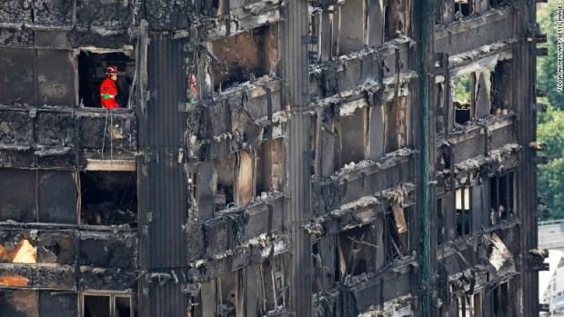 grenfell fire london firefighter