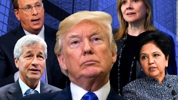 Trump's business panels disband post-Charlottesville