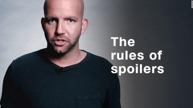 SPOILER ALERT: The etiquette of tweeting plot twists