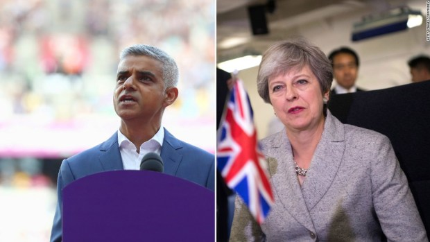 London mayor: U.K. has no game plan on Brexit