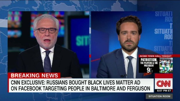 Russia bought Black Lives Matter ad on Facebook