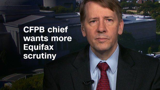 Consumer watchdog chief wants more scrutiny for Equifax