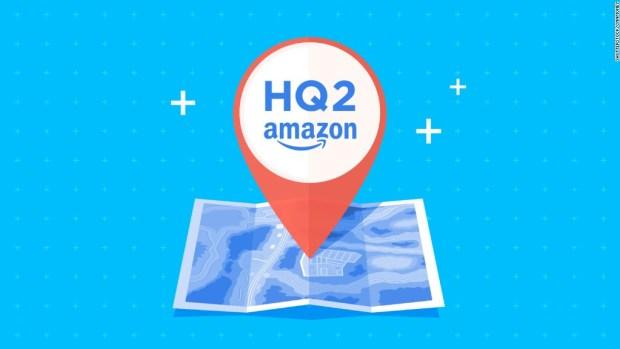NYC went orange in a bid for Amazon's next headquarters