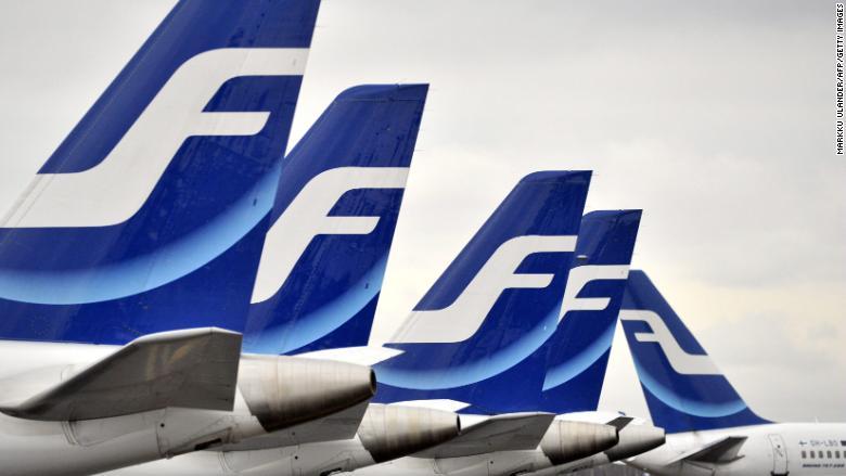 Finnair has begun weighing passengers