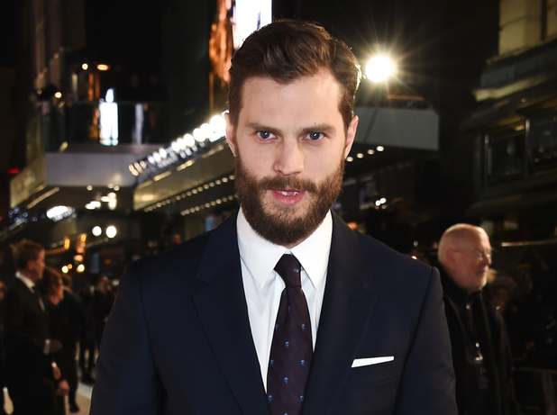 Jamie Dornan attends the UK Premiere of Fifty Shades Of Grey