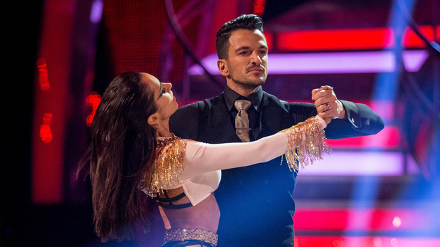 Peter Andre and Janette Manrara on Week Four Strictly Come Dancing