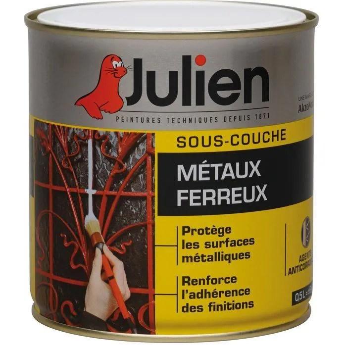 Sous-couche Julien - Métaux ferreux J5 - 500 ml - Achat / Vente - Peinture Julien Sous Couche