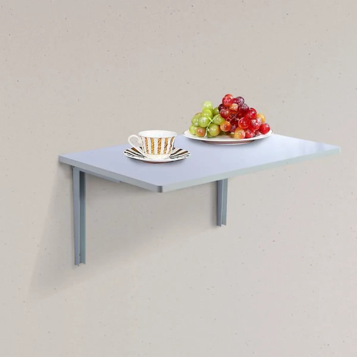 Fabriquer Table Rabattable Trendy Interesting Fabriquer Table Murale Rabattable With