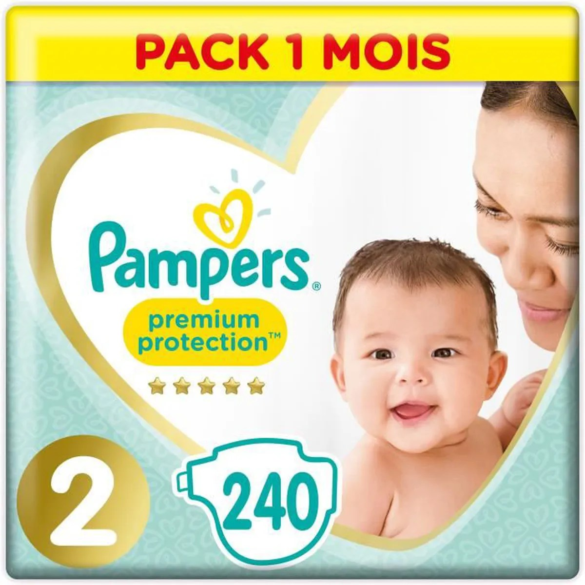 Couches Pampers Nouveau Né Pampers New Baby Taille