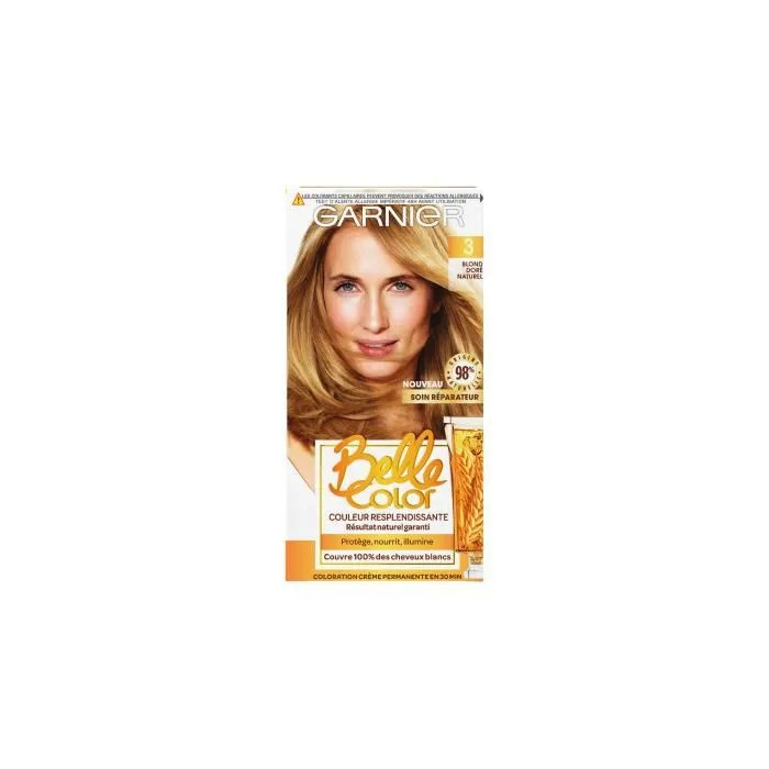 Vente Pas Chère Garnier Coloration Belle Color - Blond Doré Naturel N°03