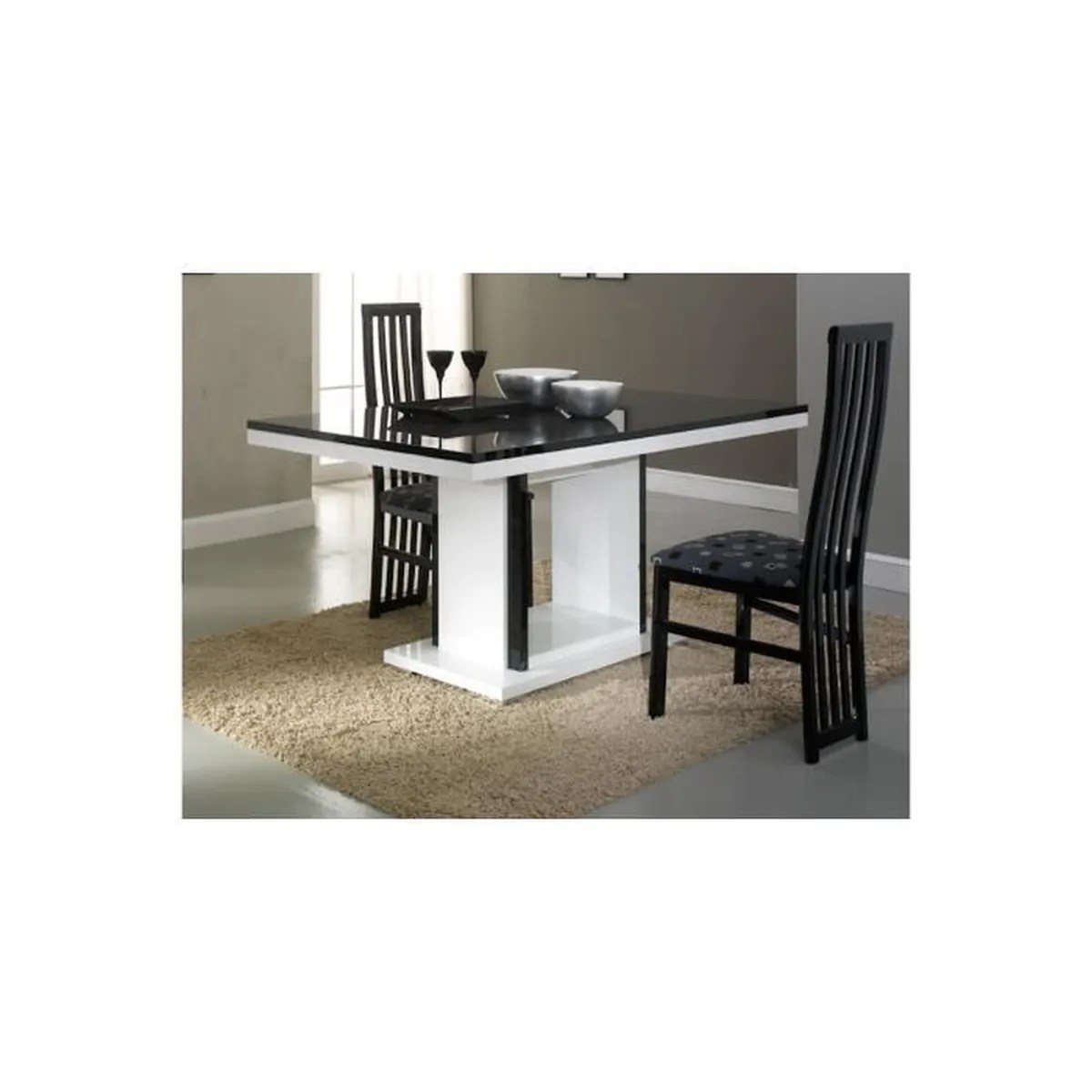 Table Rectangulaire Pas Cher Table Rectangulaire Pied Central Achat Vente Table