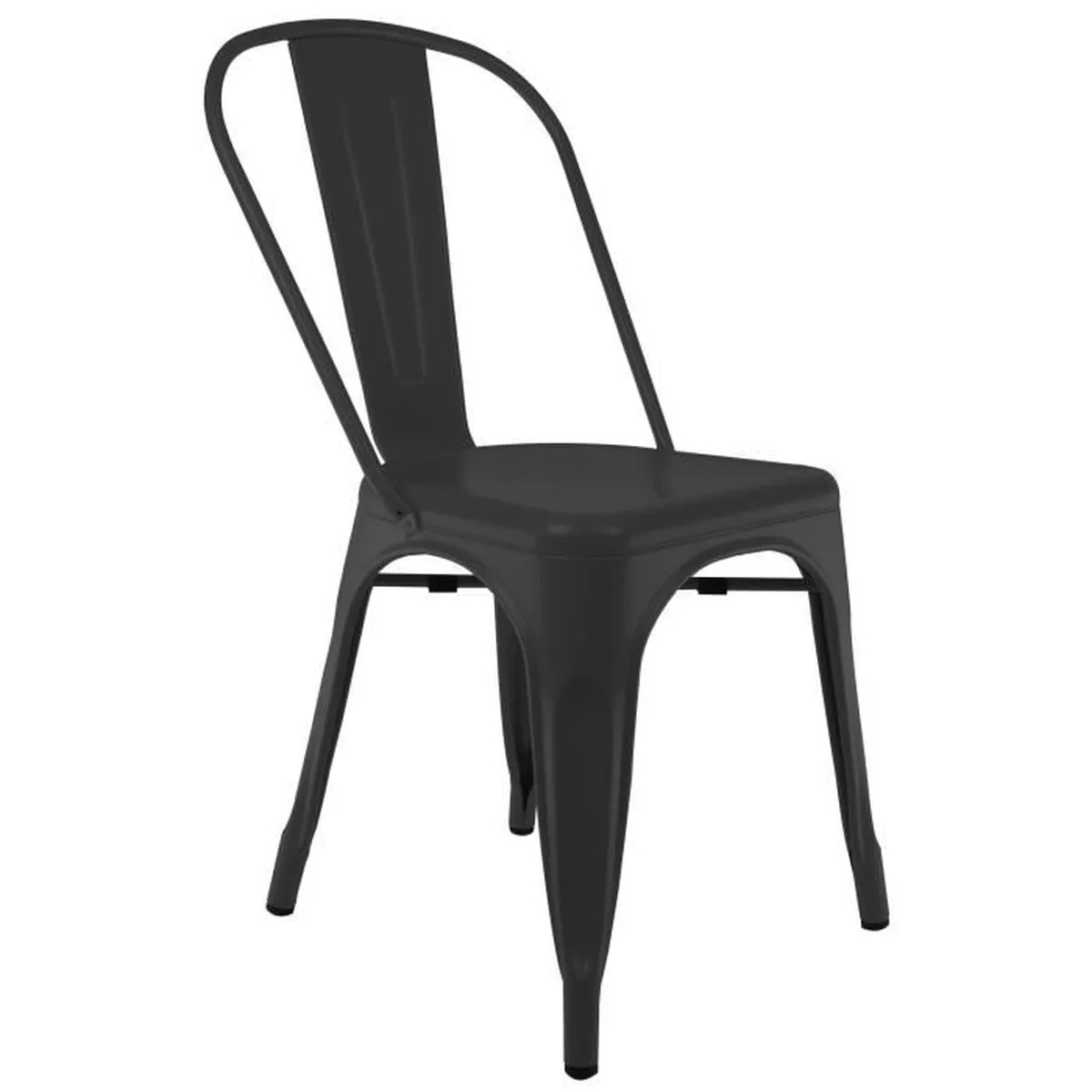 Chaises Privee Chaise Privee Chaise Industrielle Bistro Noir Sans