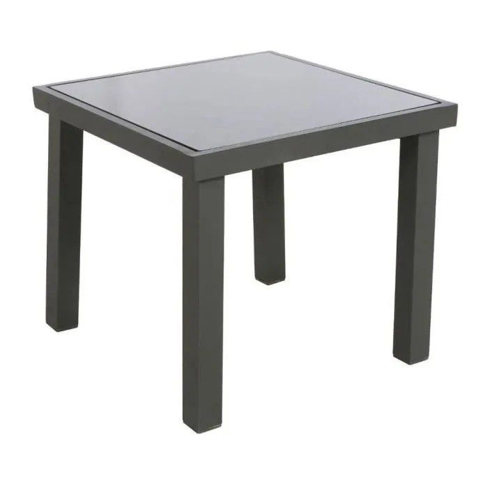 Table Exterieur Hesperide | Table Livourne Exterieur Gris 200 Cm ...