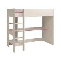 Lit mezzanine avec bureau et rangement - Achat / Vente Lit ...