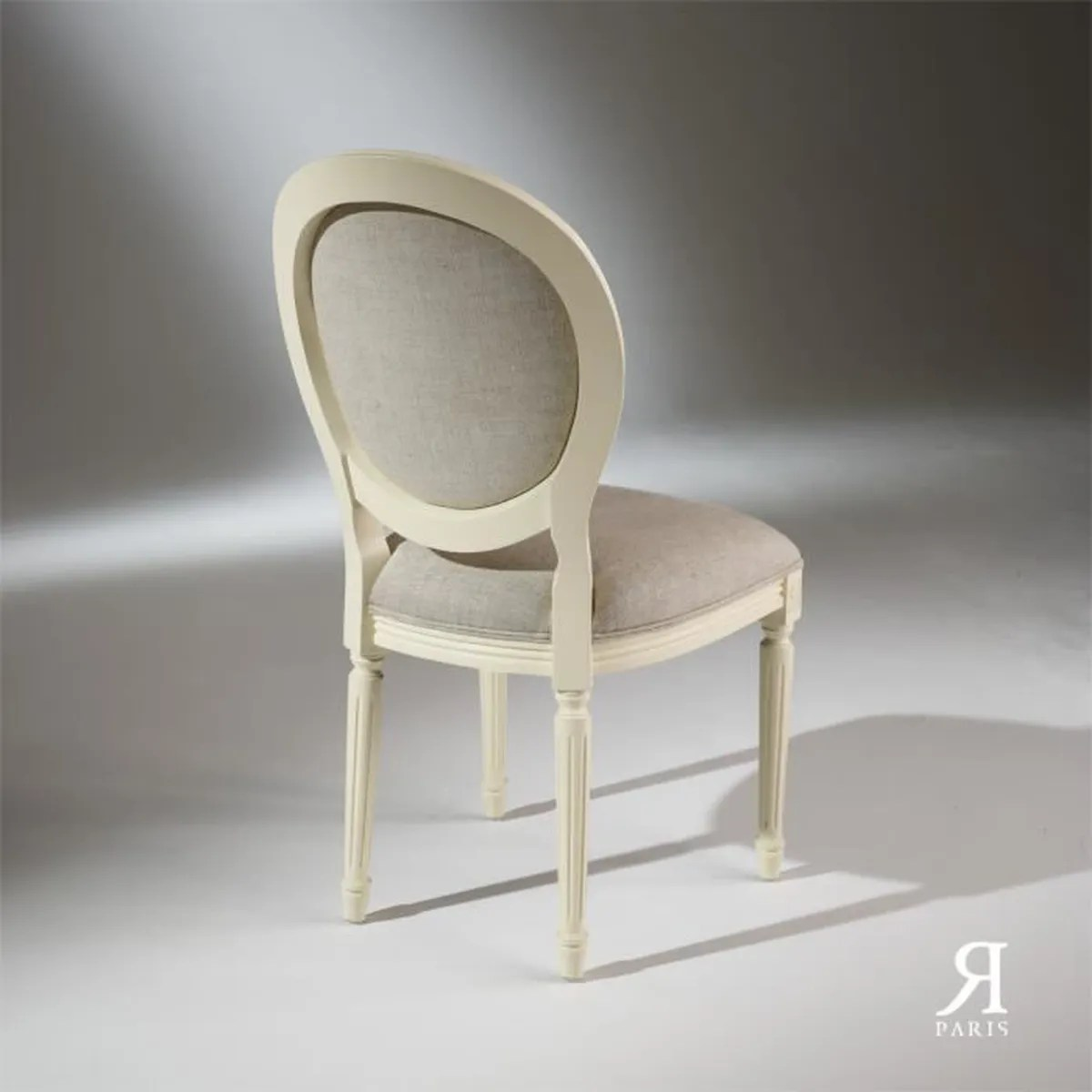 Chaises Medaillons Chaise Medaillon Blanche