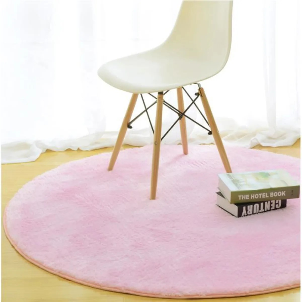 Tapis Rose Salon Tapis Rond Rose Achat Vente Tapis Rond Rose Pas Cher Cdiscount