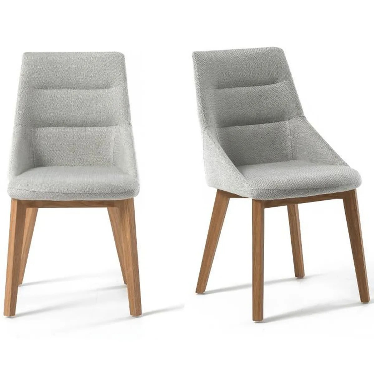 Charly Lot De 2 Tabourets De Bar Noirs Chaise Design Scandinave Lot De 2 Talika Gris Clair Achat