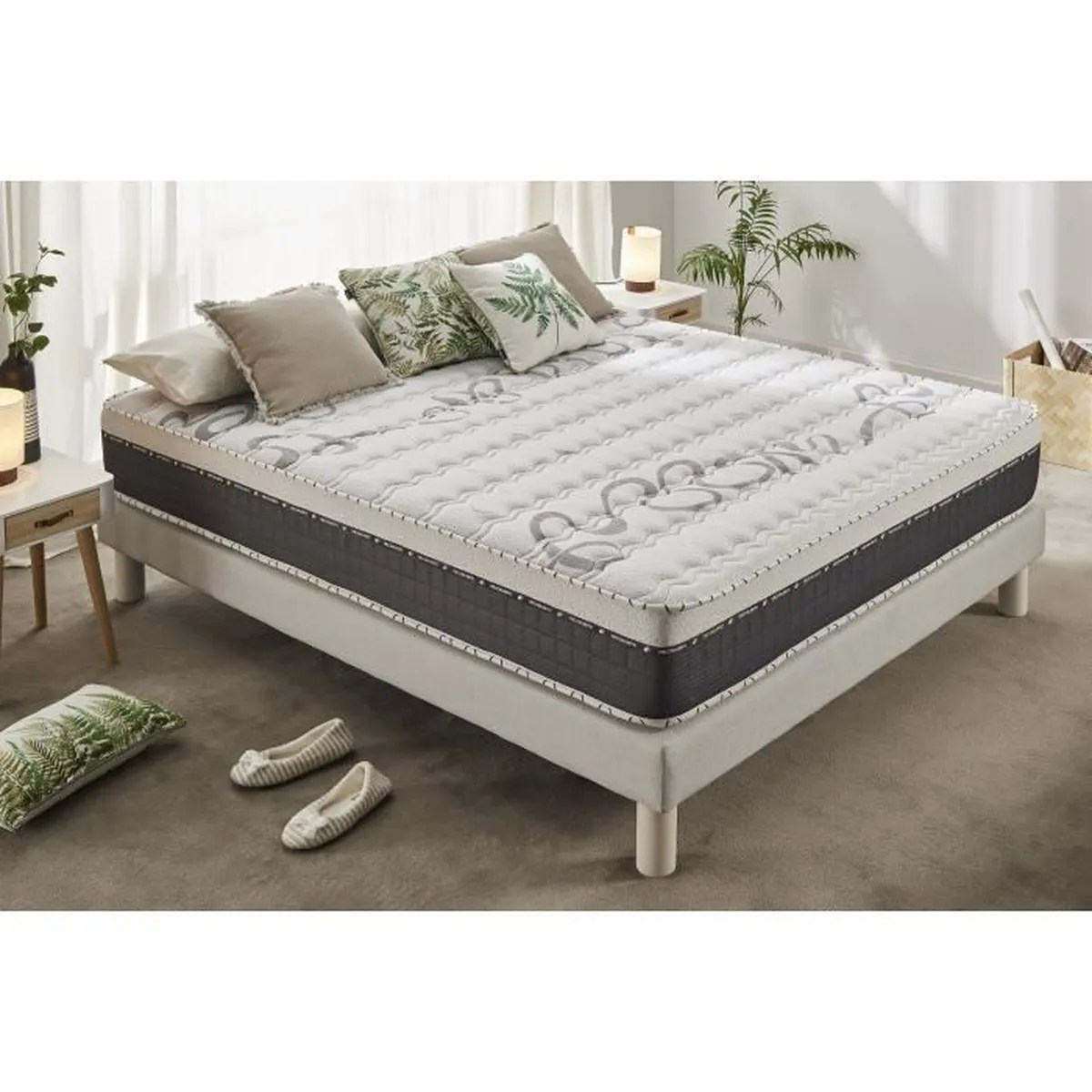 Matelas Latex Memoire De Forme 160x200 Matelas 160x200 Cm Top Caress Mémoire De Forme Viscotex Mousse Blue Latex Confort Haut De Gamme