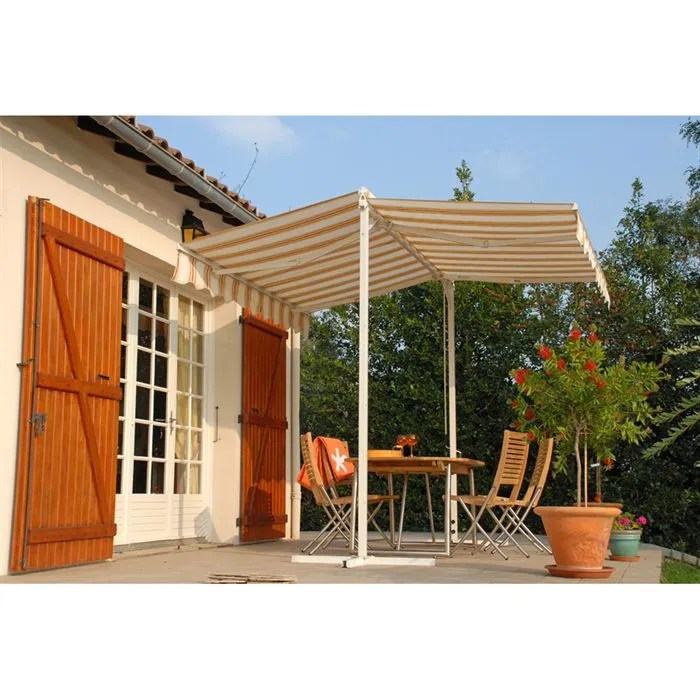 Store Banne Cdiscount Residence Store Banne Sur Pieds 300 X 300 Cm - Achat