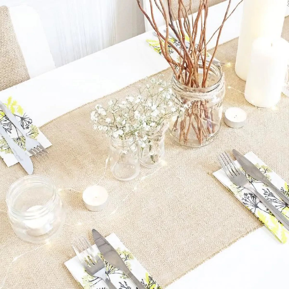 Salon Jute Sets Et Chemin De Table Achat Vente Sets Et Chemin De
