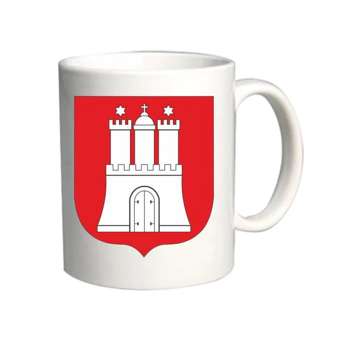 Hamburg Tasse Tasse 11oz Tm0195 Hamburg Flag Flagge Flag