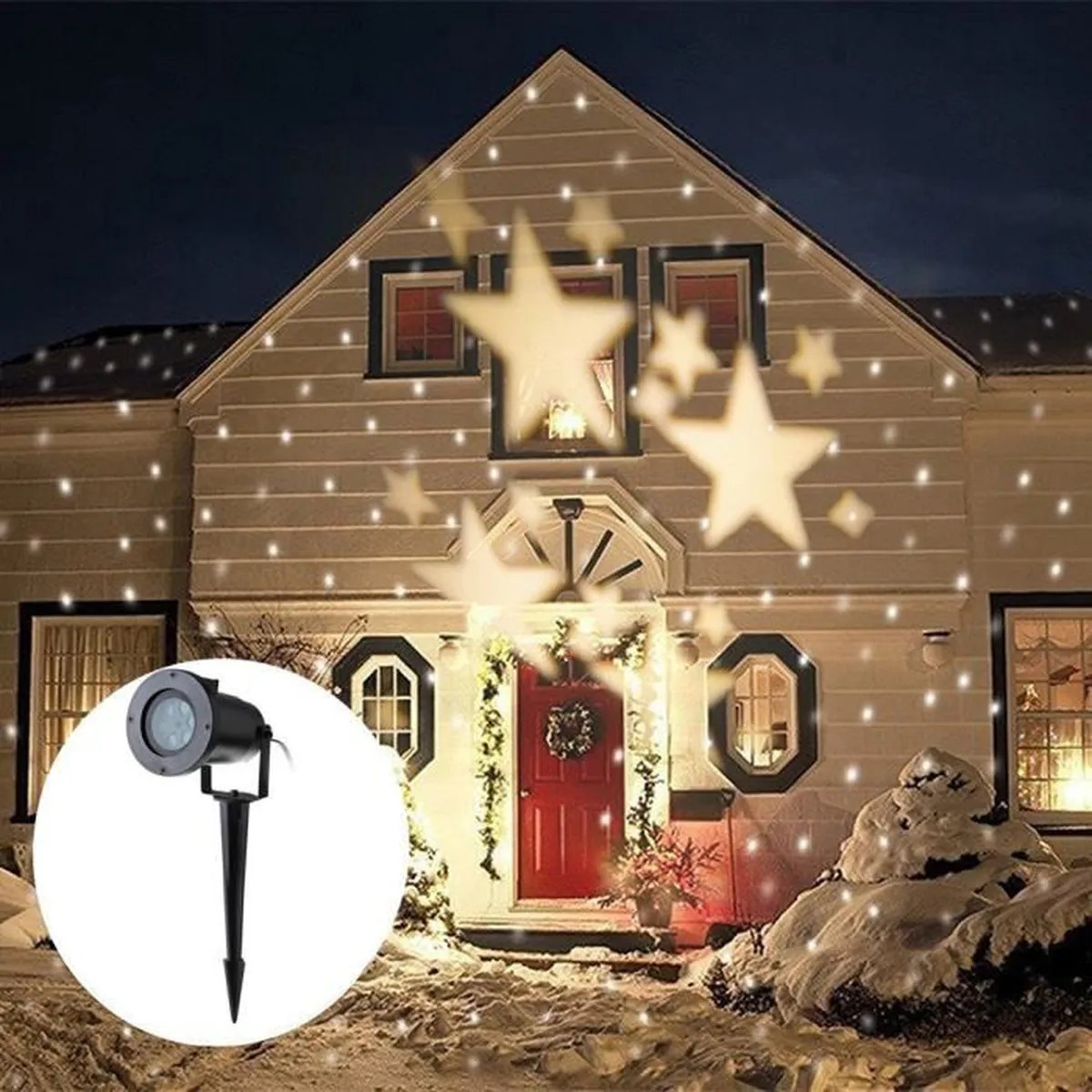 Projecteur Exterieur Mickey Decoration De Noel Led Pas Cher