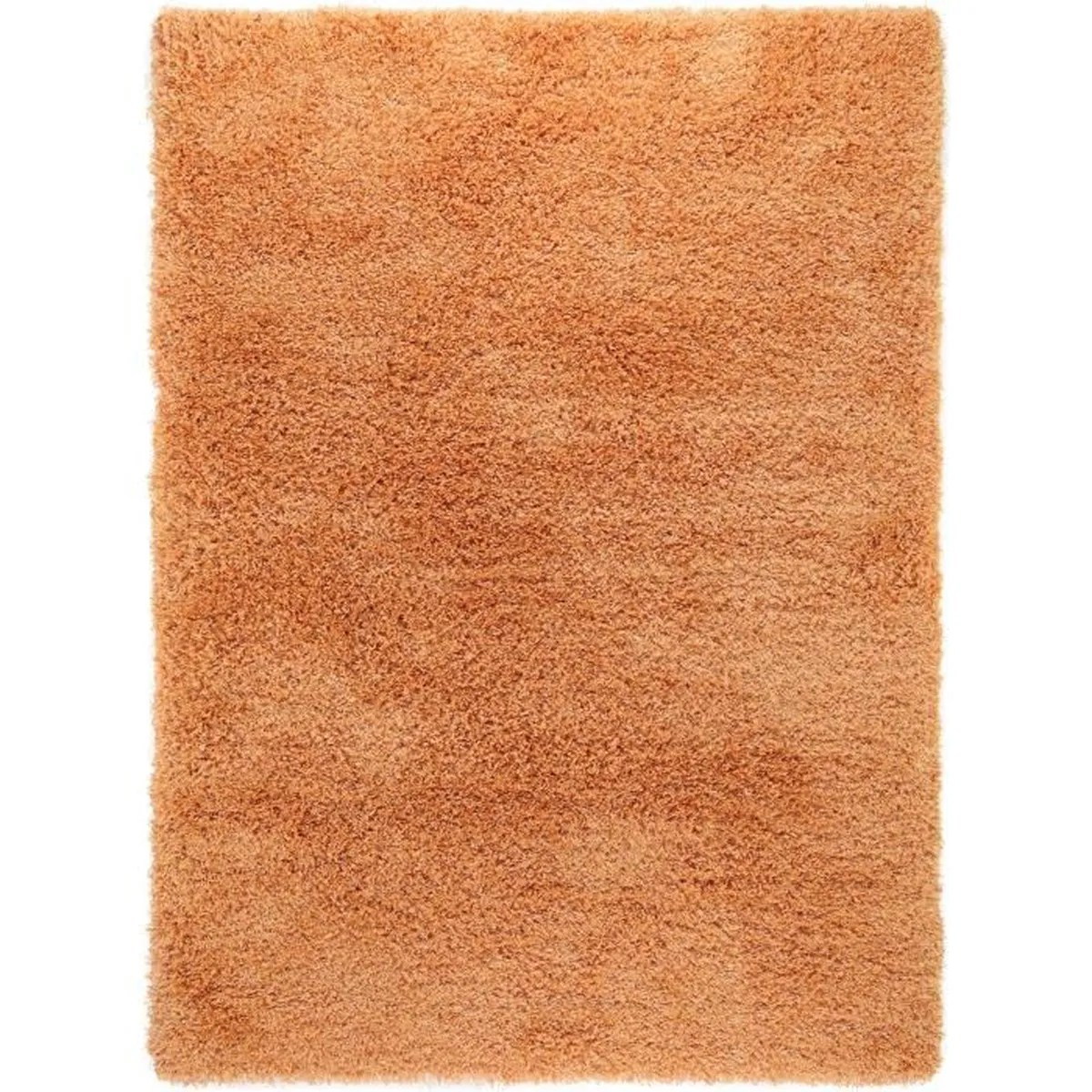 Tapis Shaggy Orange Tapis Shaggy à Poils Longs Sophie Orange 300x400 Cm Tapis Doux