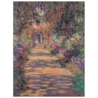 MONET-Une Alle du jardin de Monet, Giverny - Achat ...