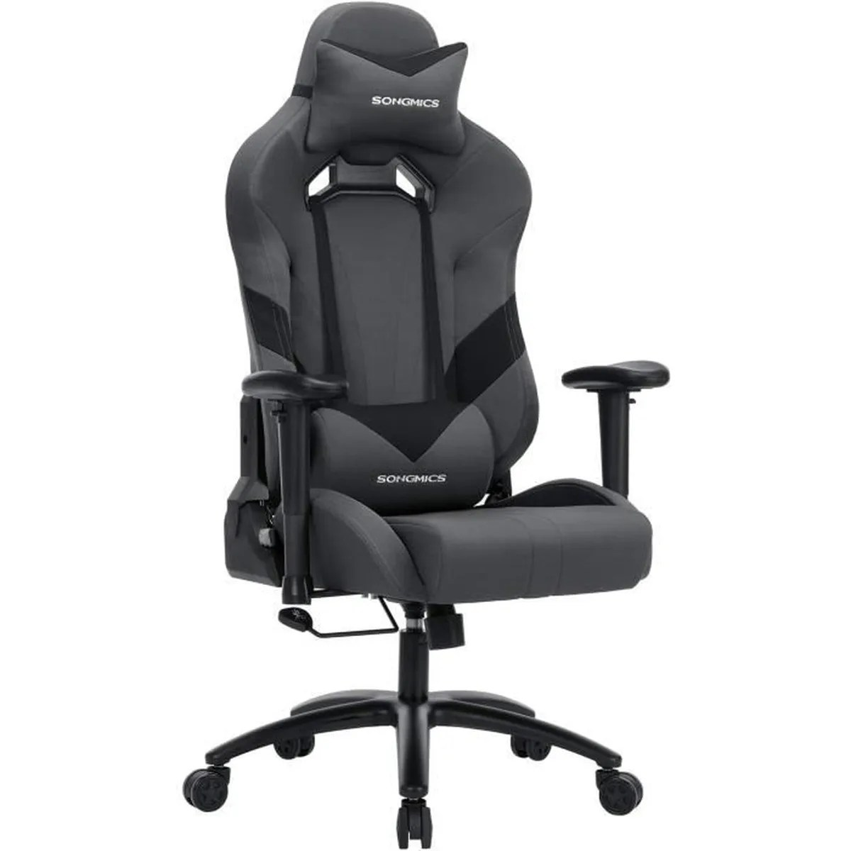 Promo Chaise Gamer Songmics Chaise De Bureau Racing Sport Hauteur Réglable 124
