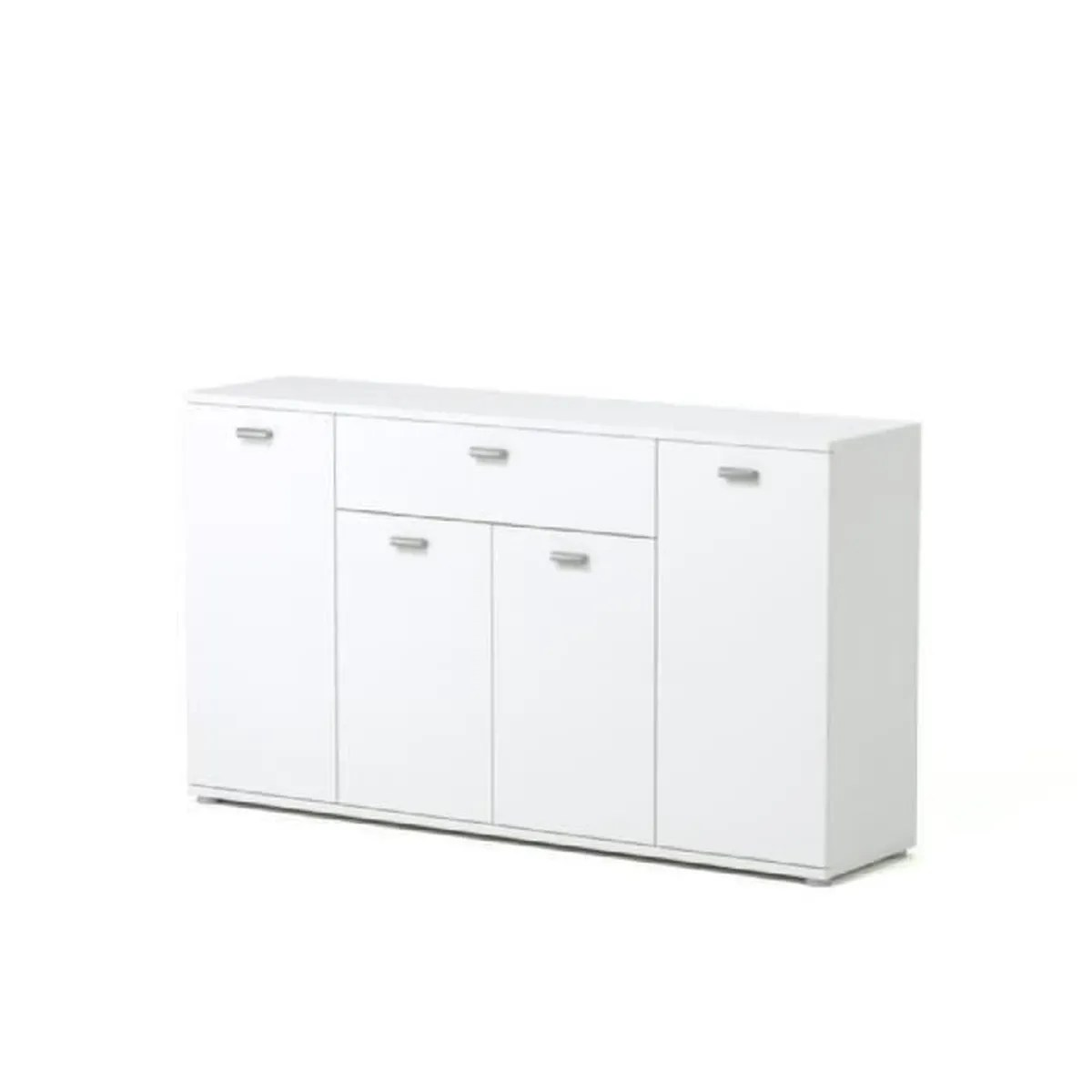 Buffets Bas Contemporains Dixi Buffet Bas Contemporain Laqué Blanc L 120 Cm