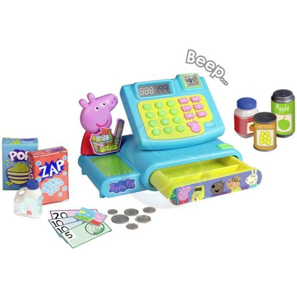 Jouet Enfant 3 Ans Peppa Pig Caisse Enregistreuse It S Shopping Day With Peppa