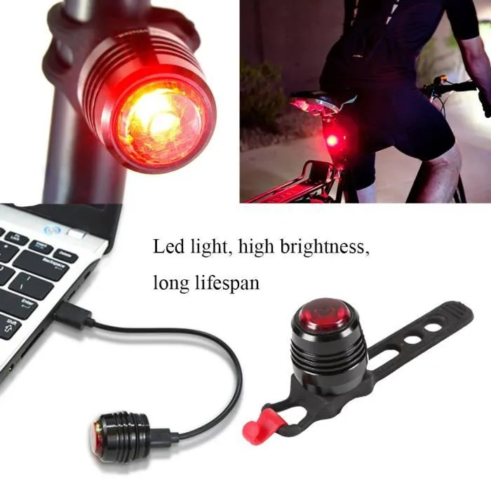 Eclairage Velo Led Clignotant Gosear® Vélo Vtt Lampe Frontale Avant Usb Rechargeable