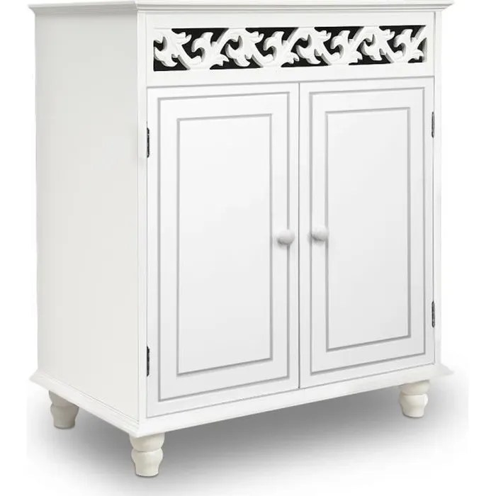 Commode Blanche Vintage Commode Blanche Buffet Blanc Dressoir Style