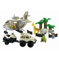 Ecoiffier Avion SOS Safari Abrick - Achat / Vente univers ...