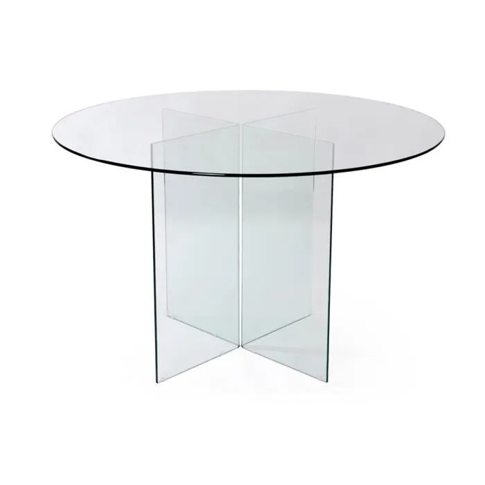 Table Ronde En Verre Ikea Table Ronde Transparente Ikea : Prix Pas Cher Table Ronde