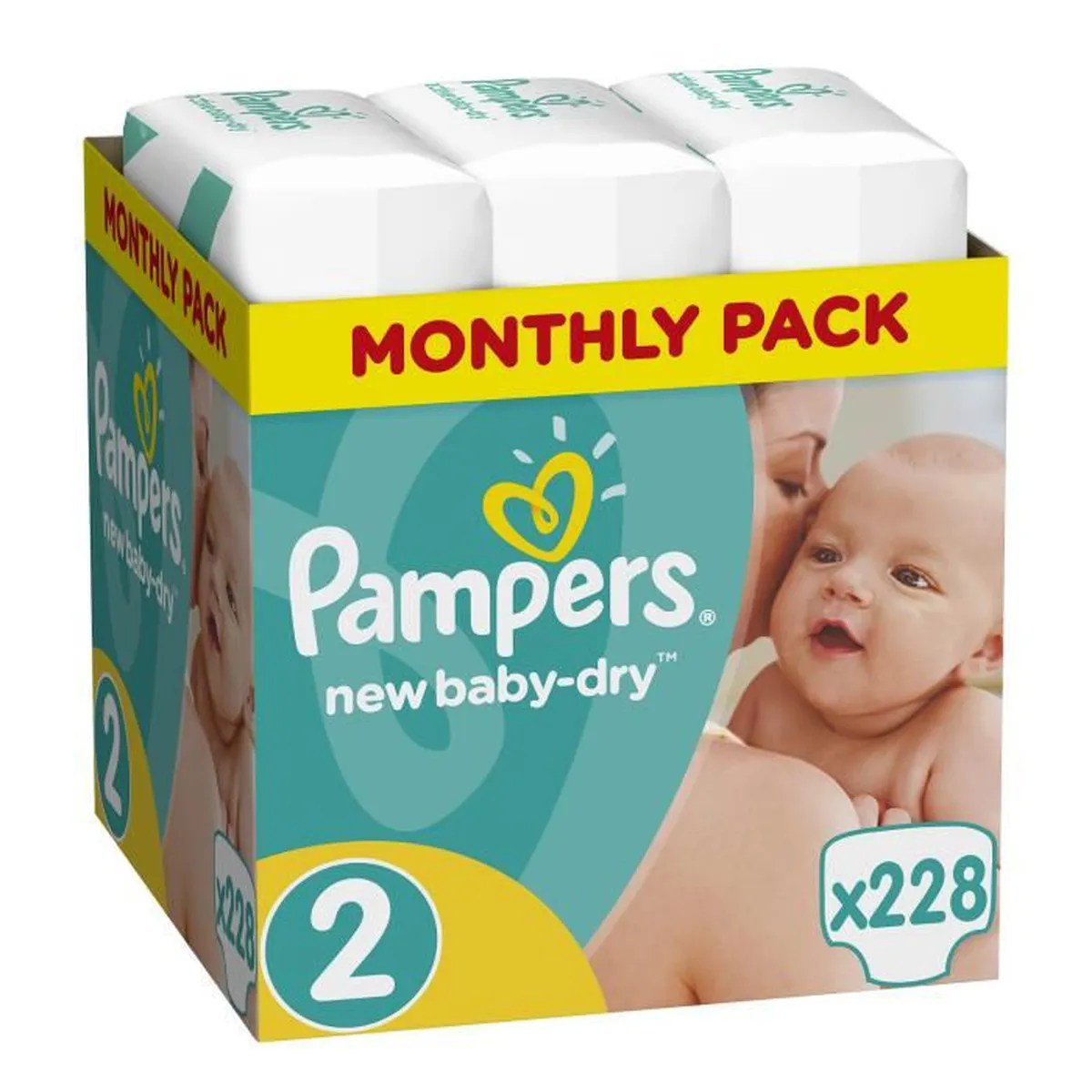 Couche Pampers Prix Pampers Baby Dry Couches Taille 2 3 à 6 Kg X228 Couches