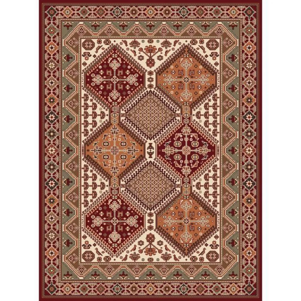 Tapis Orient Tapis Copie D Orient 160 X 230 Ref 3040 Orange