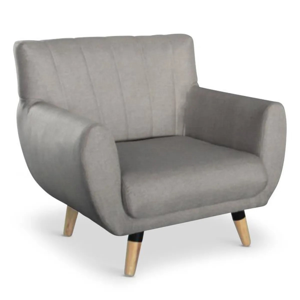 Https://www.menzzo.fr/scandinave/fauteuils-scandinaves.html Fauteuil Scandinave Mirabo Taupe Achat Vente Fauteuil Gris
