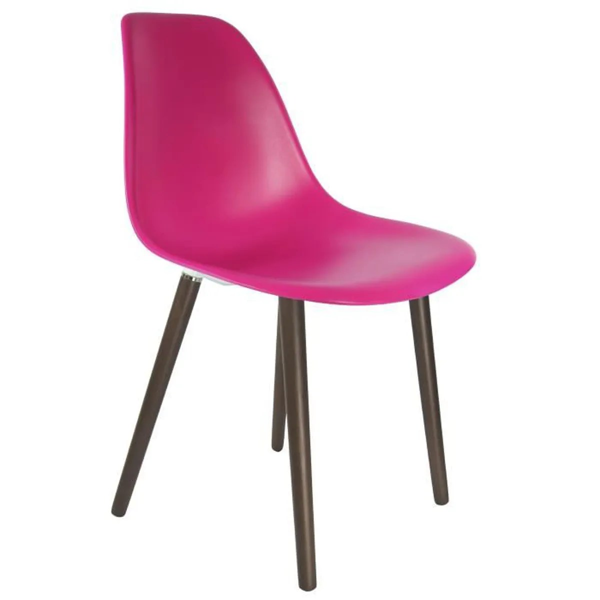 Chaises Privee Chaise Privee Chaise Stw Fuchsia Noyer Achat
