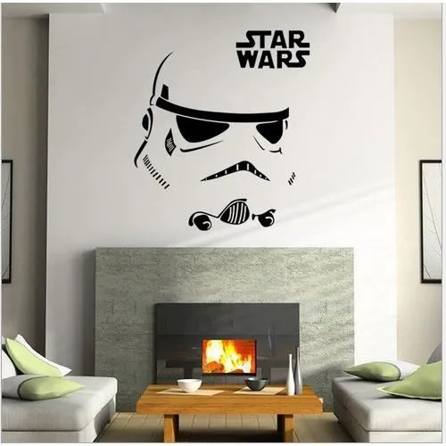 Chambre Adulte Star Wars Stickers Muraux Star Wars 12 Autocollant Amovible Maison